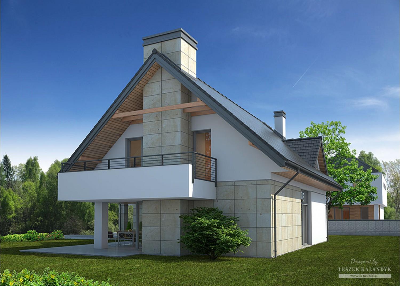 Projekt domu LK&902