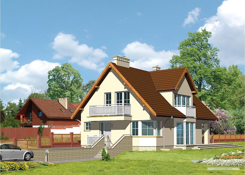Projekt domu LK&356