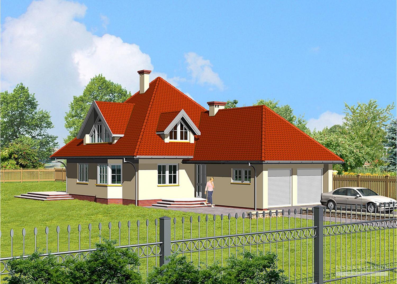 Projekt domu LK&352