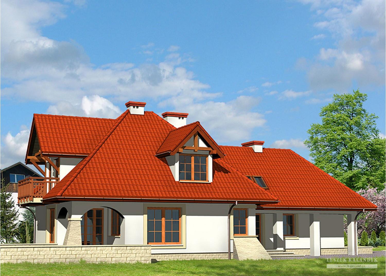 Projekt domu LK&348