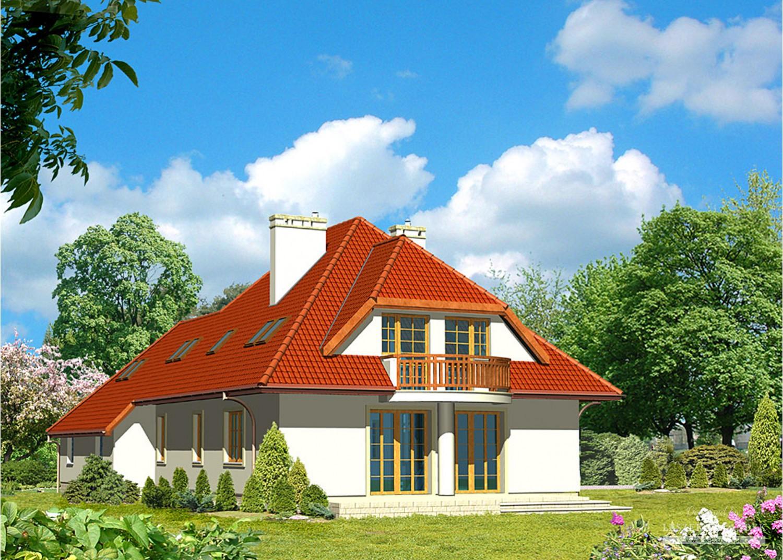 Projekt domu LK&324