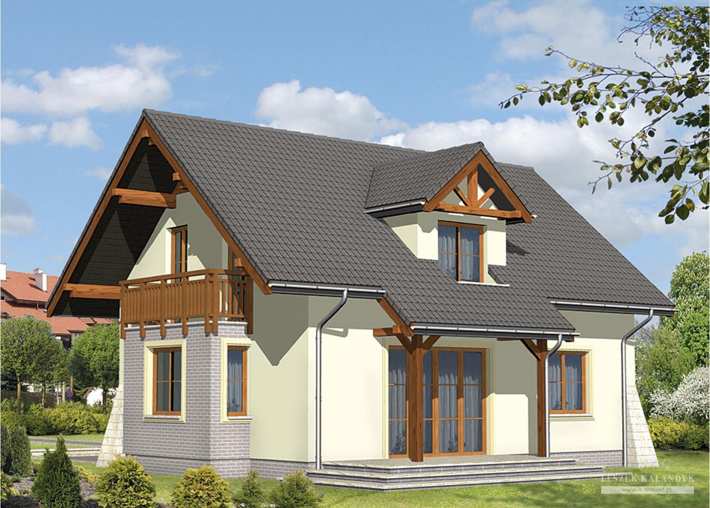 Projekt domu LK&323