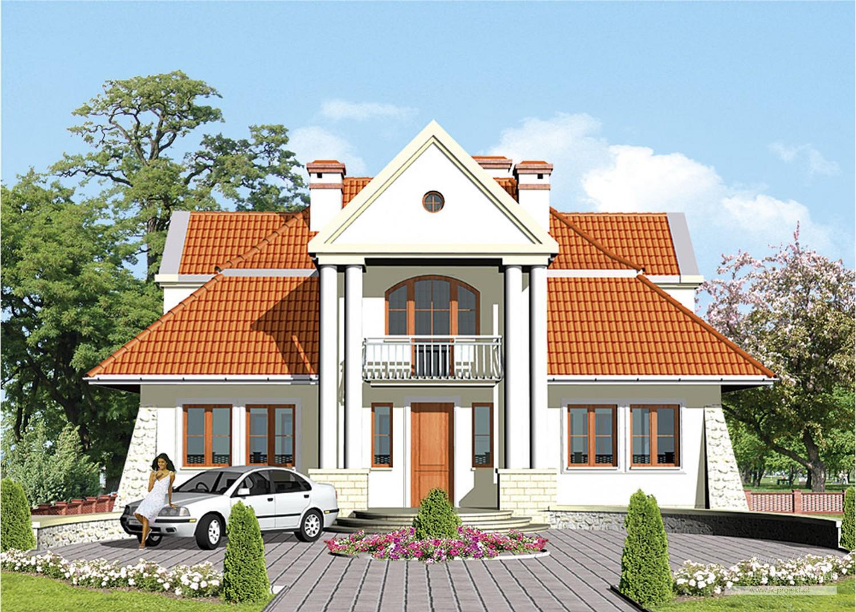 Projekt domu LK&320