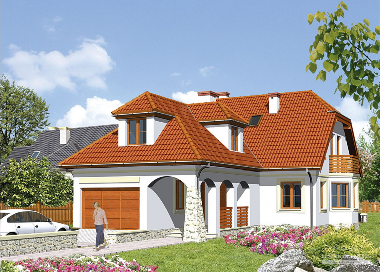 Projekt domu LK&316