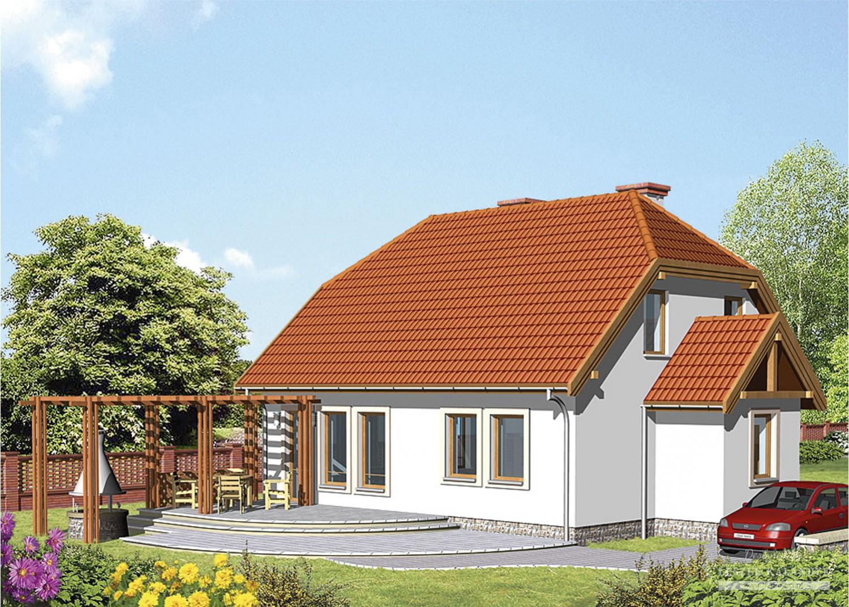 Projekt domu LK&303