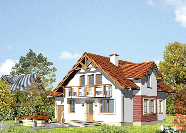 Projekt domu LK&297
