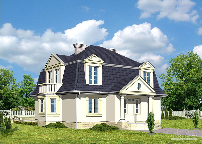 Projekt domu LK&295