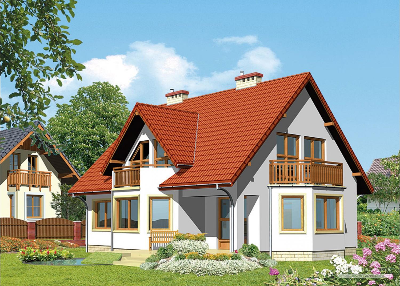 Projekt domu LK&291