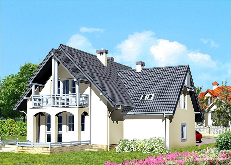 Projekt domu LK&284