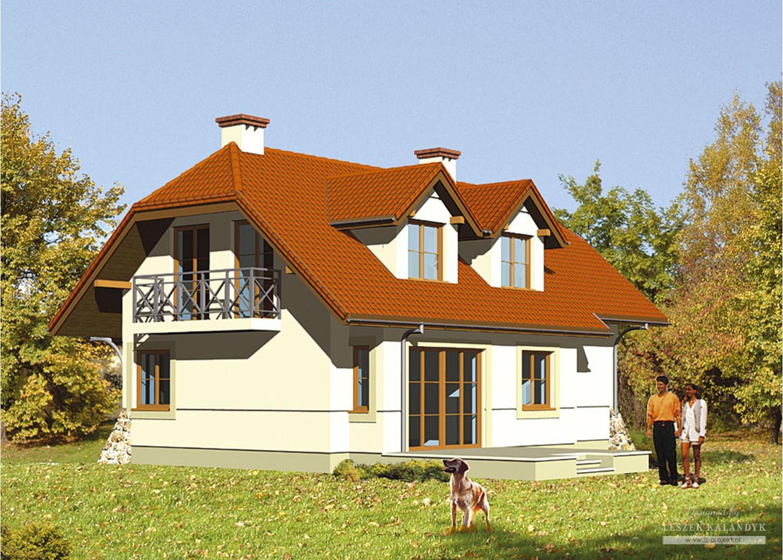 Projekt domu LK&283
