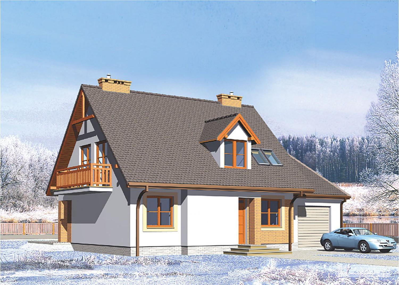 Projekt domu LK&282
