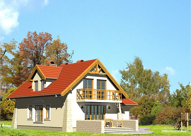 Projekt domu LK&274