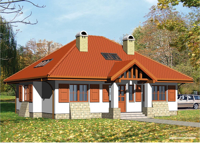 Projekt domu LK&264