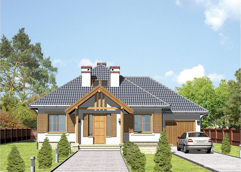 Projekt domu LK&263