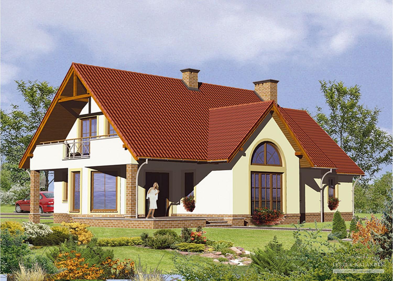 Projekt domu LK&259