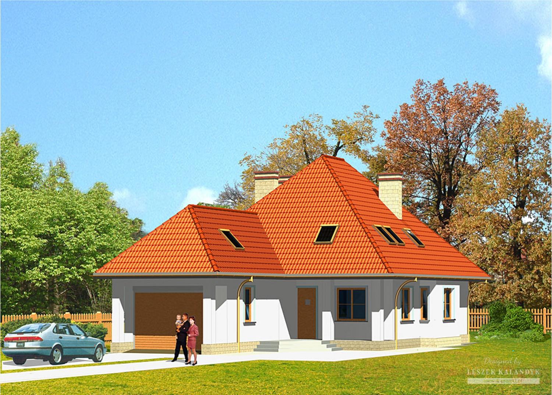 Projekt domu LK&249