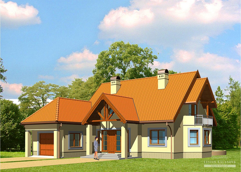 Projekt domu LK&247