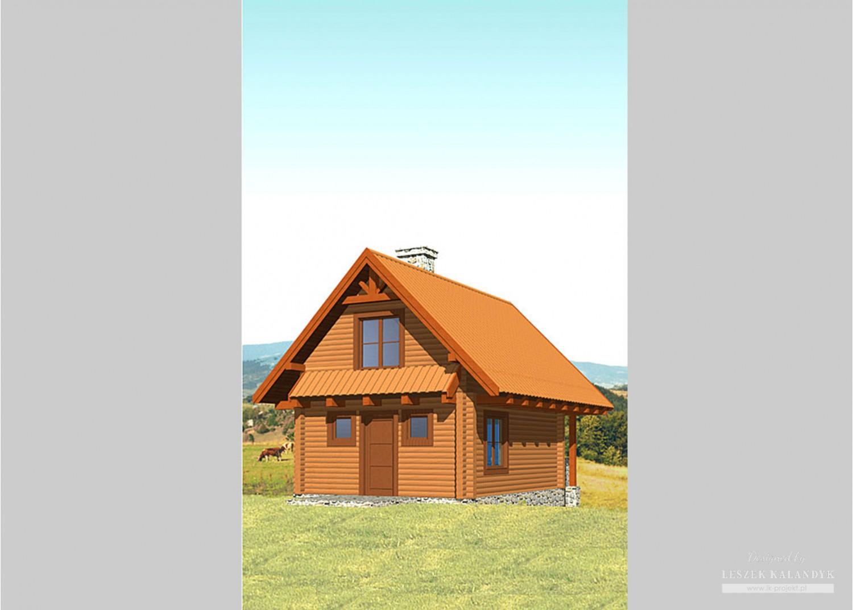 Projekt domu LK&240