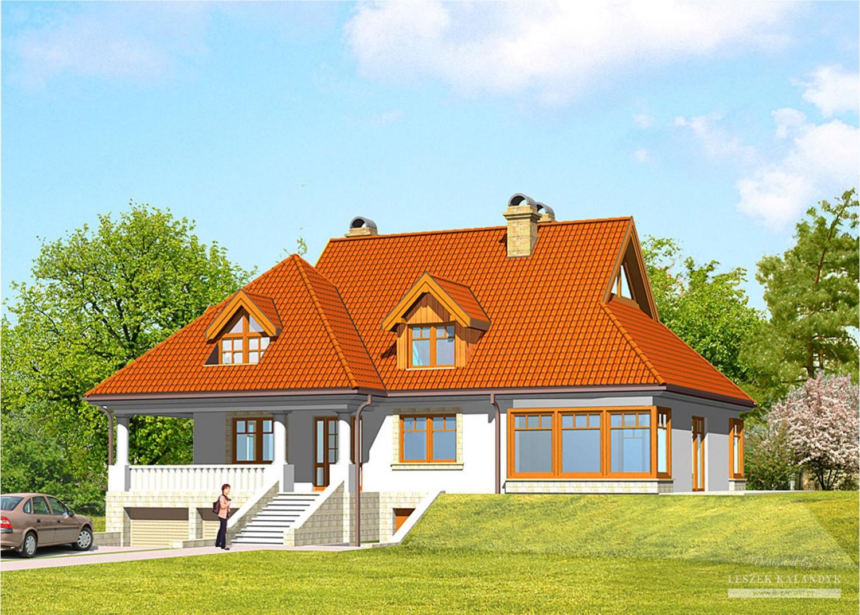 Projekt domu LK&231