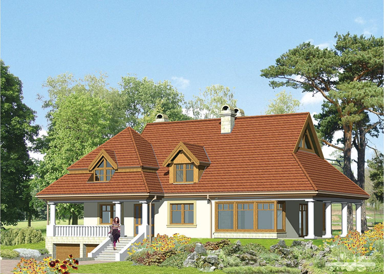 Projekt domu LK&226
