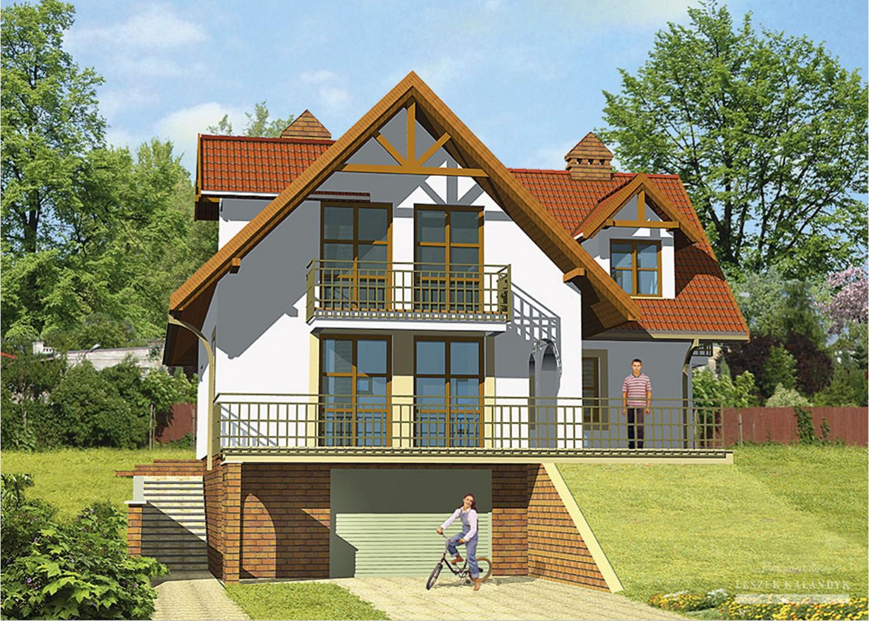Projekt domu LK&214