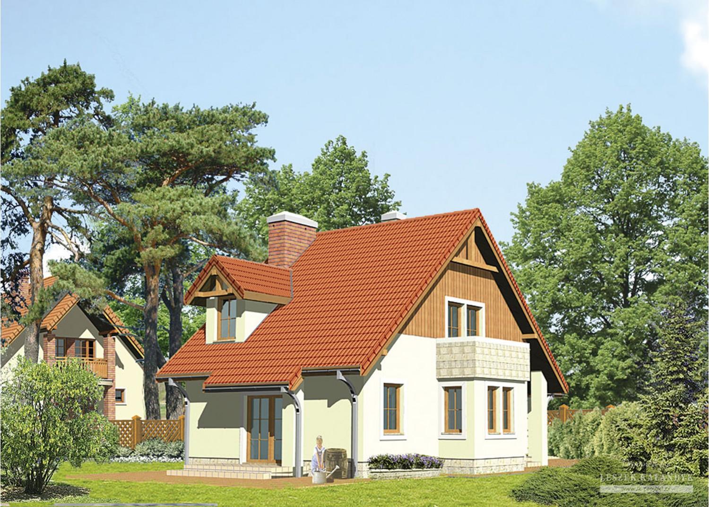 Projekt domu LK&211