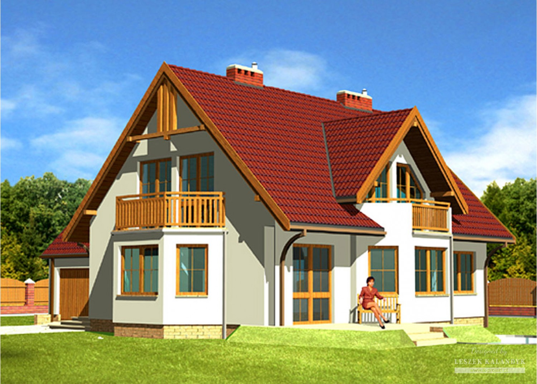 Projekt domu LK&210