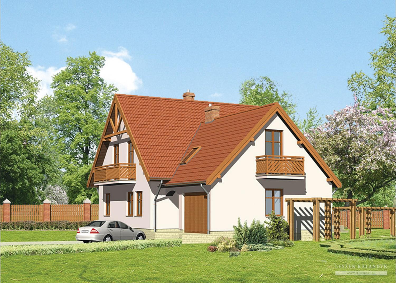 Projekt domu LK&200