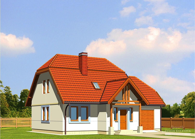 Projekt domu LK&190