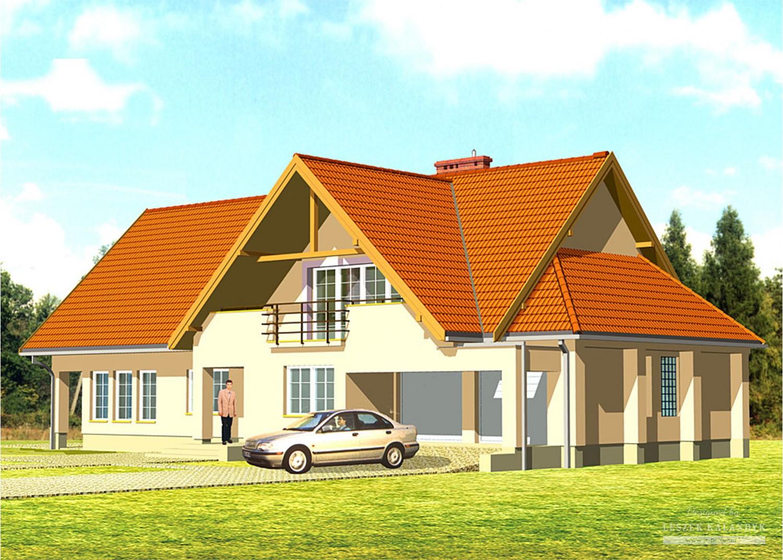 Projekt domu LK&189