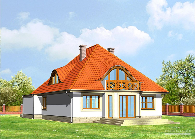 Projekt domu LK&174