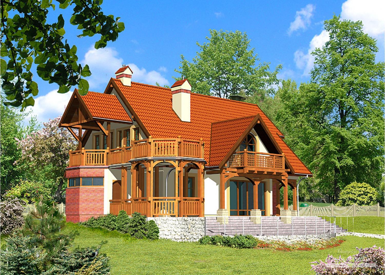 Projekt domu LK&173