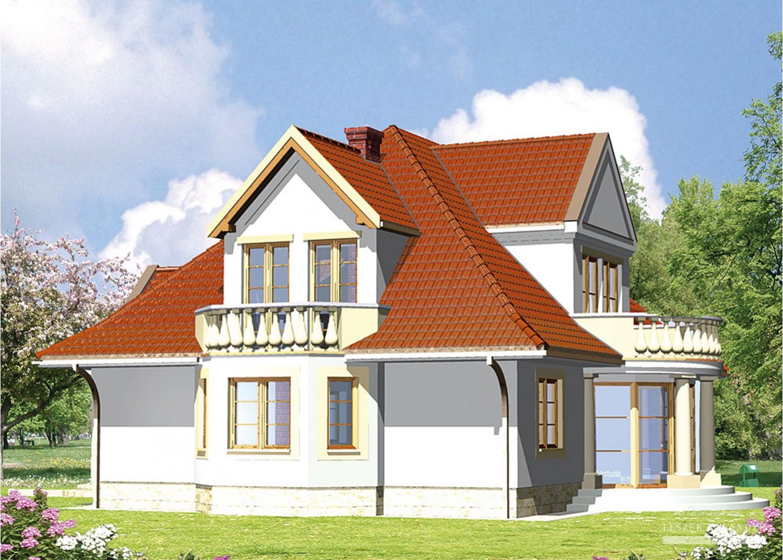 Projekt domu LK&169