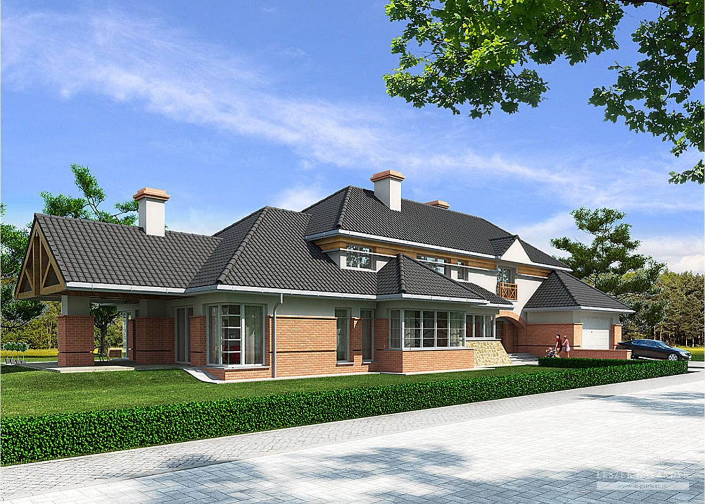 Projekt domu LK&167