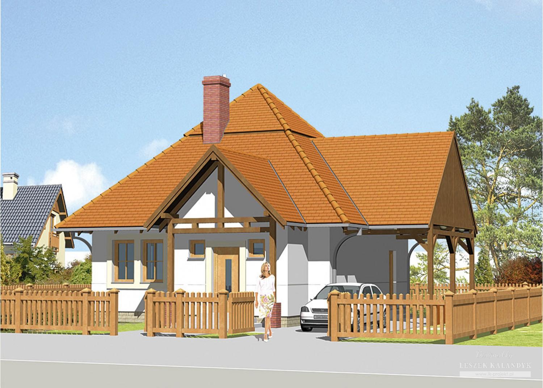 Projekt domu LK&155