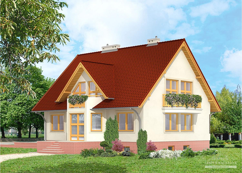 Projekt domu LK&151