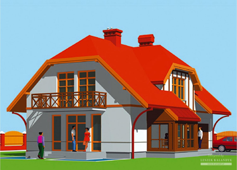 Projekt domu LK&147