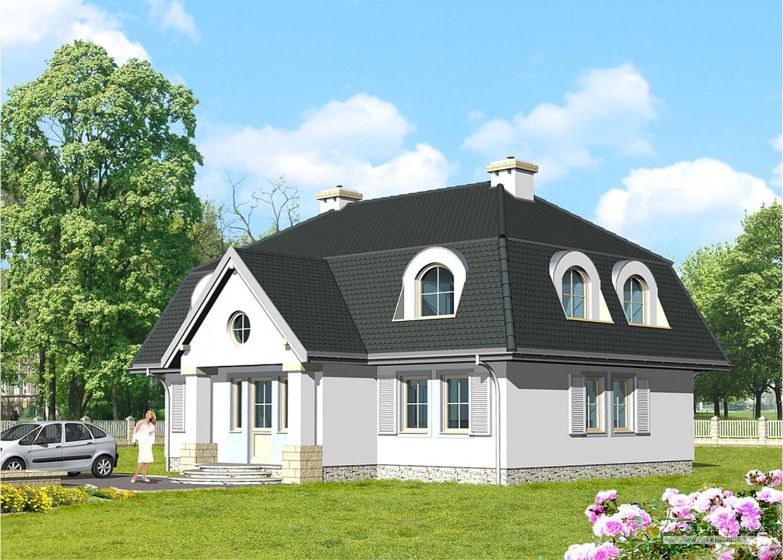 Projekt domu LK&140