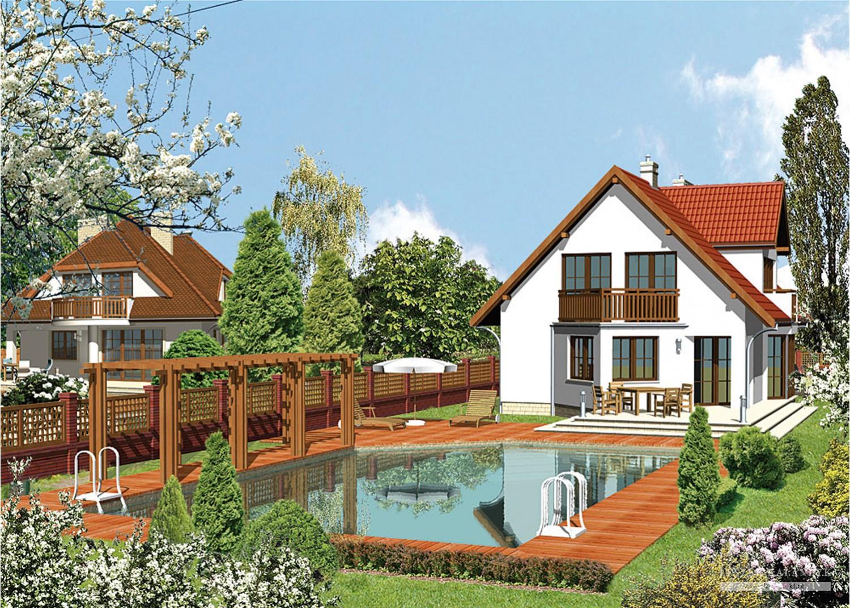 Projekt domu LK&130