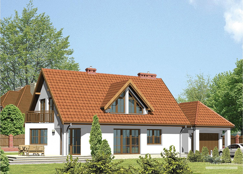 Projekt domu LK&129
