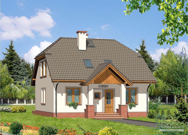 Projekt domu LK&127