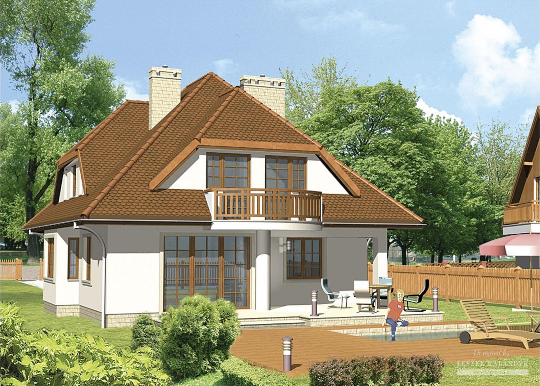 Projekt domu LK&125