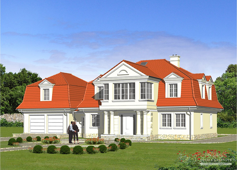 Projekt domu LK&862