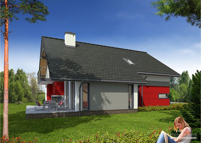 Projekt domu LK&895