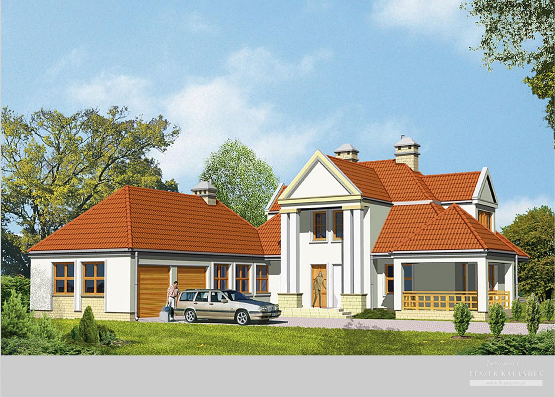 Projekt domu LK&105