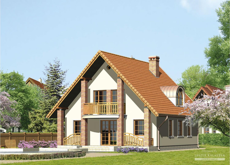 Projekt domu LK&100