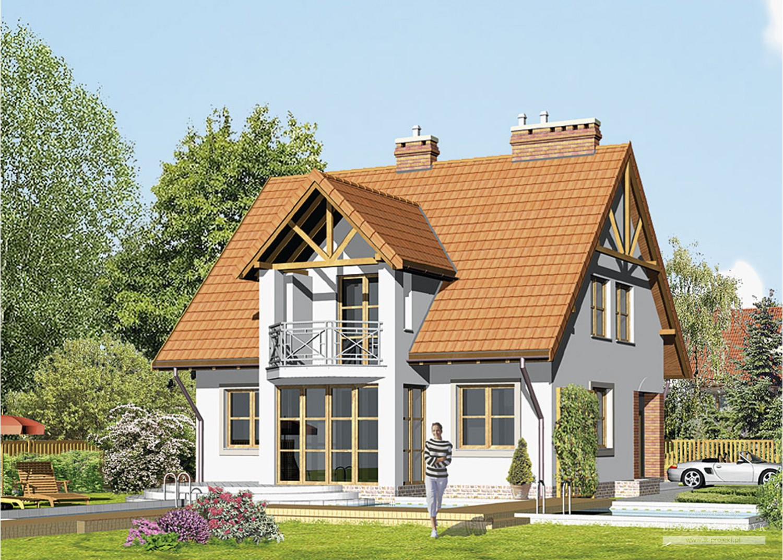 Projekt domu LK&82