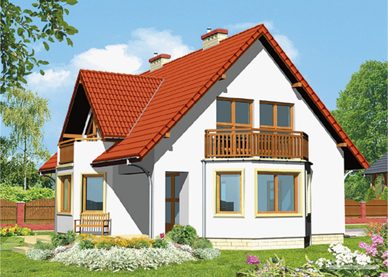 Projekt domu LK&80