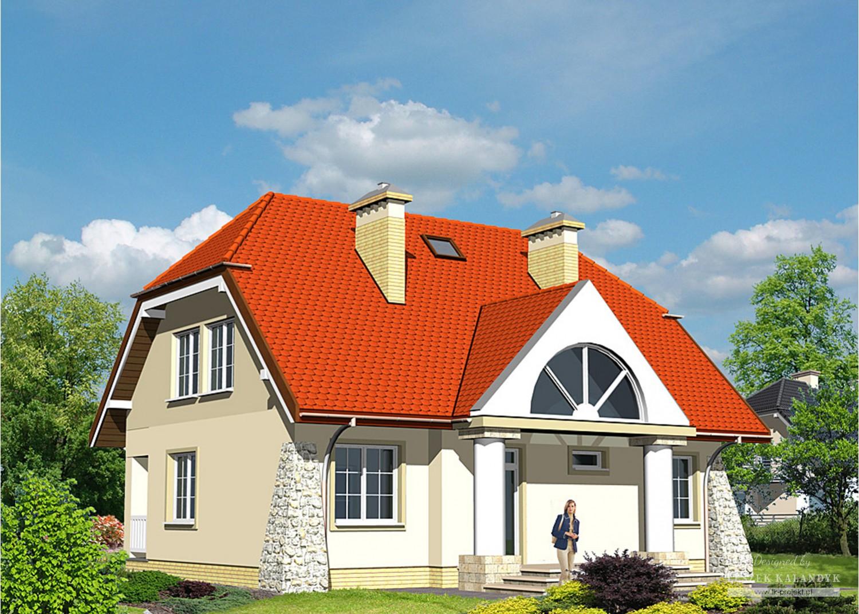 Projekt domu LK&73