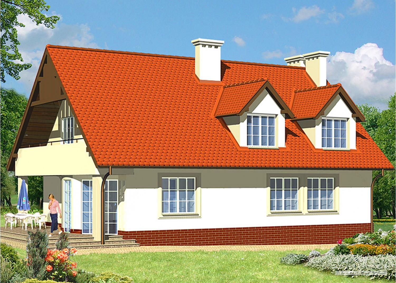 Projekt domu LK&64